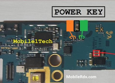 Samsung A8 SM A800 Power Button Ways Solution