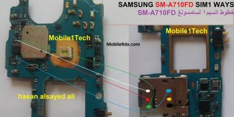Samsung Galaxy A7 SM-A710 No Sim Card Problem Repair Ways