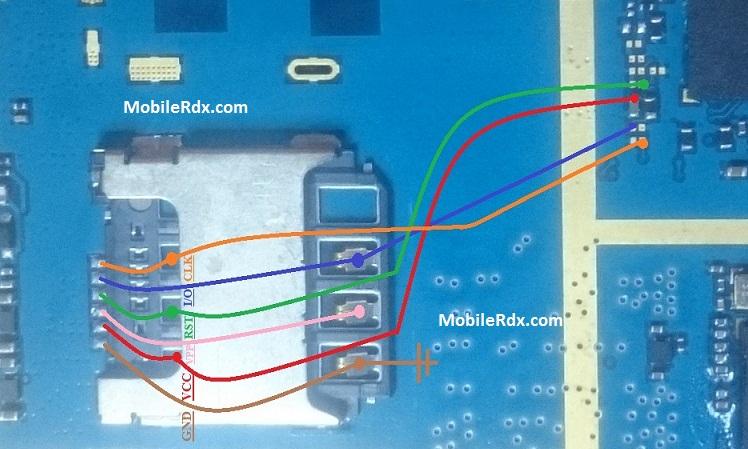 Samsung Galaxy J1 J110M Sim Card Problem Jumper Solution