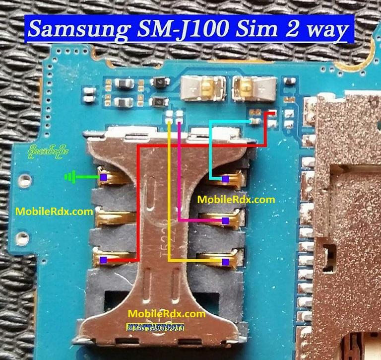 Samsung Galaxy SM J100 Sim Card 2 Ways Jumper - Samsung Galaxy J100 Insert Sim Problem Repair Solution