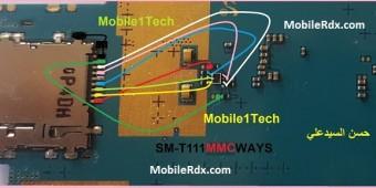 Samsung Galaxy Tab 3 T111 Memory Card Ways MMC Problem