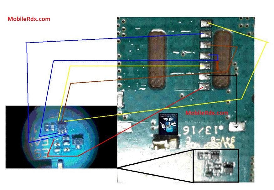 LG Optimus G E975 Sim Card Ways Repair Jumper Solution