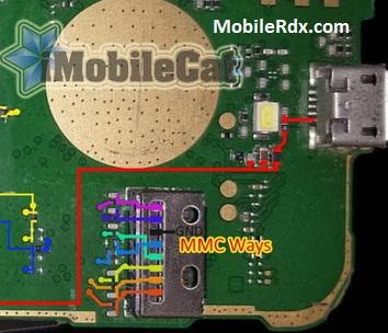 Nokia 130 MMC Ways Memory Card Problem Jumper