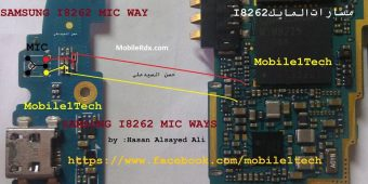 Samsung I8262 Mic Ways Problem Tested Jumper Solution