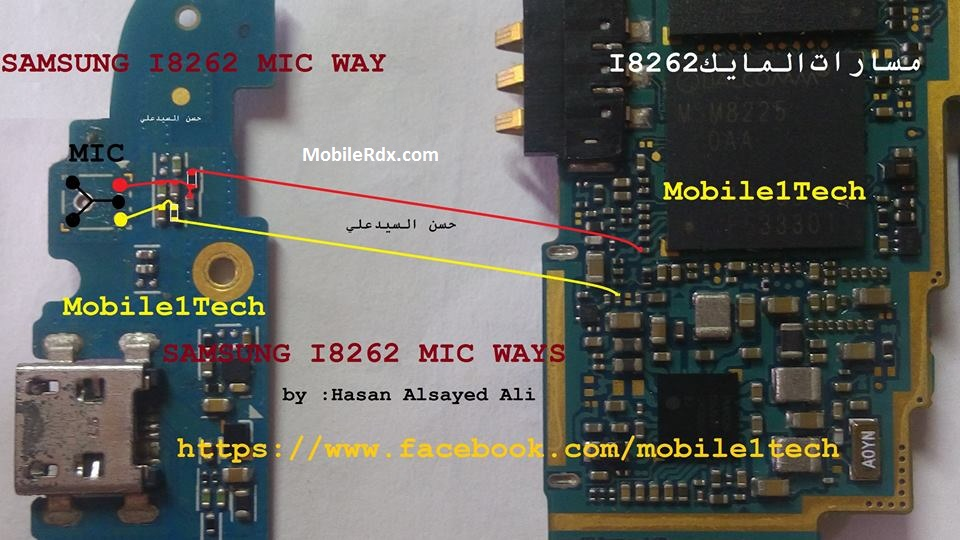 Samsung I8262 Mic Ways Problem Tested Jumper Solution