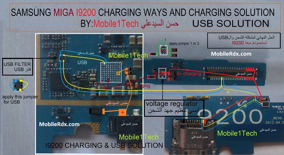 Samsung GT I9200 Charging Ways Charging Solution Usb Jumper - Samsung GT-I9200 Charging Ways Charging Solution Usb Jumper