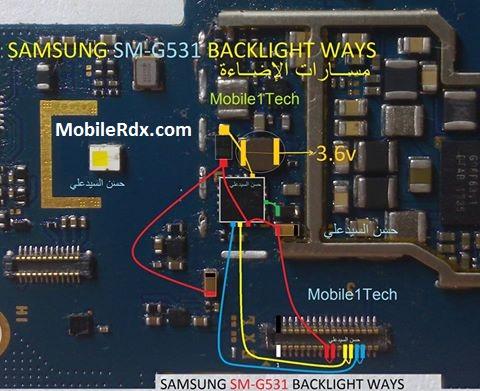 samsung-sm-g531-display-light-problem-ways-solution-lcd-jumper