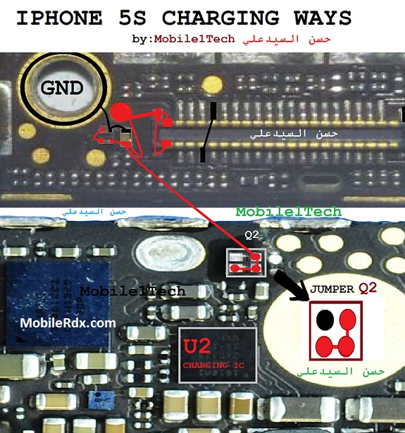 iPhone 5s Charging Problem Solution Repair Ways