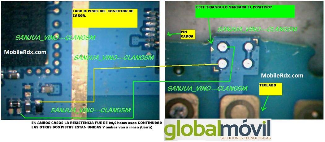 Samsung Galaxy Y Pro B5510 Mic Ways Solution Microphone Jumper