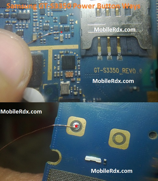 Samsung GT S3350 Power Button Ways Power On Off Key Jumper - Samsung GT-S3350 Power Button Ways Power On-Off Key Jumper