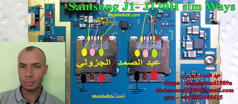 Samsung Galaxy J1 J120H Sim Card Ways Insert Sim Solution - Samsung Galaxy J1 J120H Sim Card Ways Insert Sim Solution