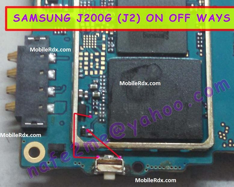 Samsung Galaxy J2 J200G Power On Off Button Ways Solution Jumper - Samsung Galaxy J2 J200G Power On Off Button Ways Solution Jumper