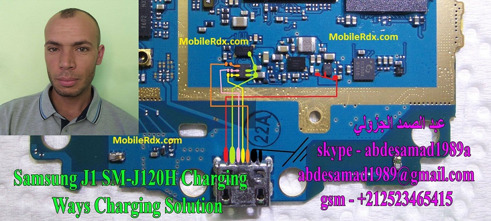 Samsung SM J120H Not Charging Problem Solution Usb Ways