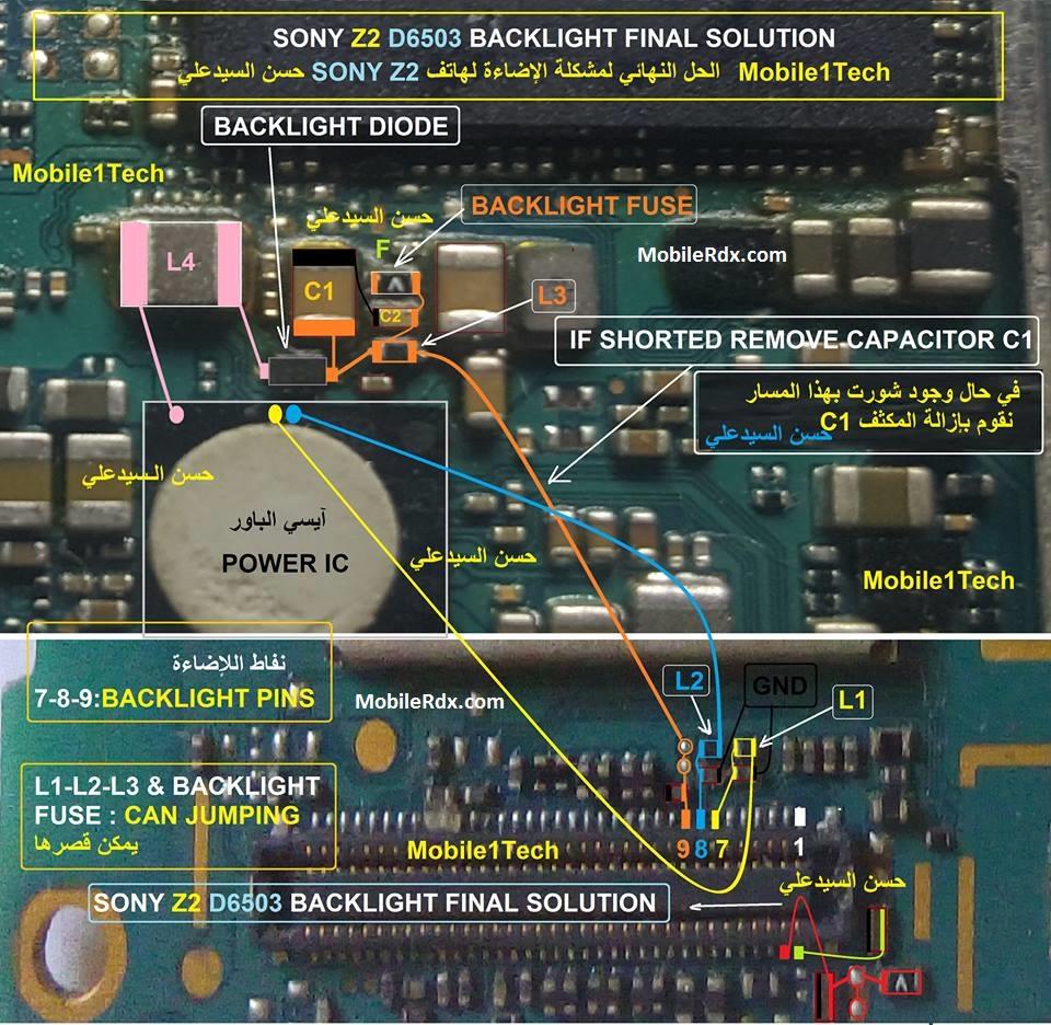 sony-xperia-z2-d6503-backlight-problem-final-solution-display-ways