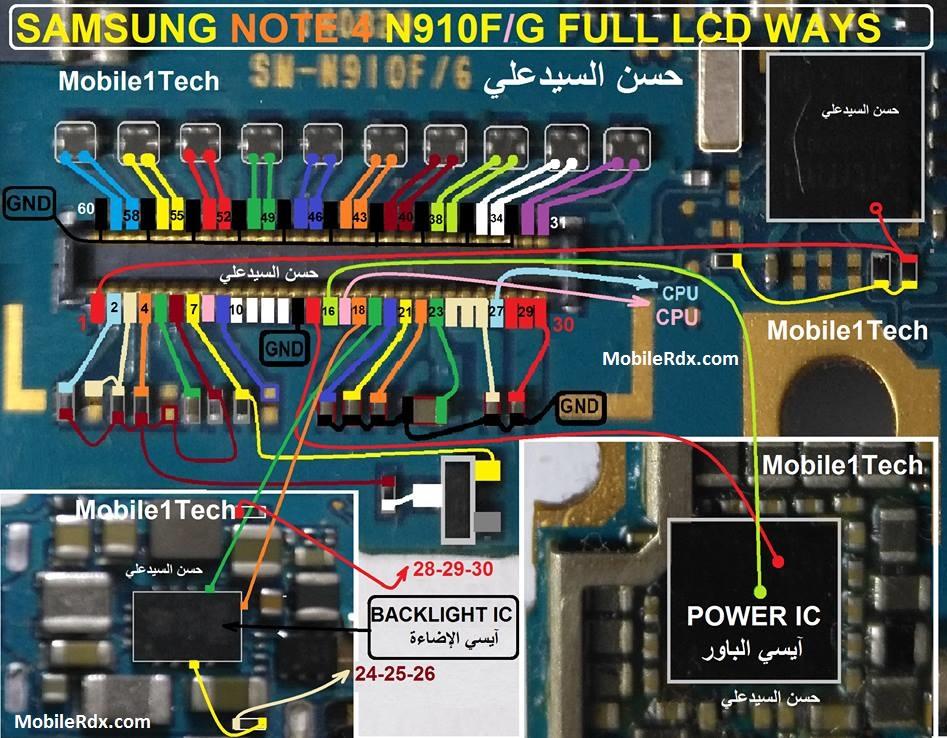 samsung-galaxy-note-4-n910f-backlight-ways-full-lcd-jumper-solution