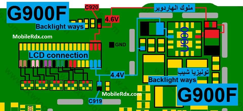 samsung-galaxy-s5-g900f-display-backlight-ways-solution-jumper