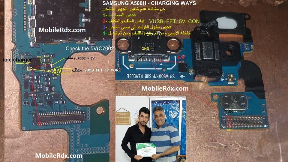 Samsung Galaxy A5 A500H Charging Ways Problem Solution