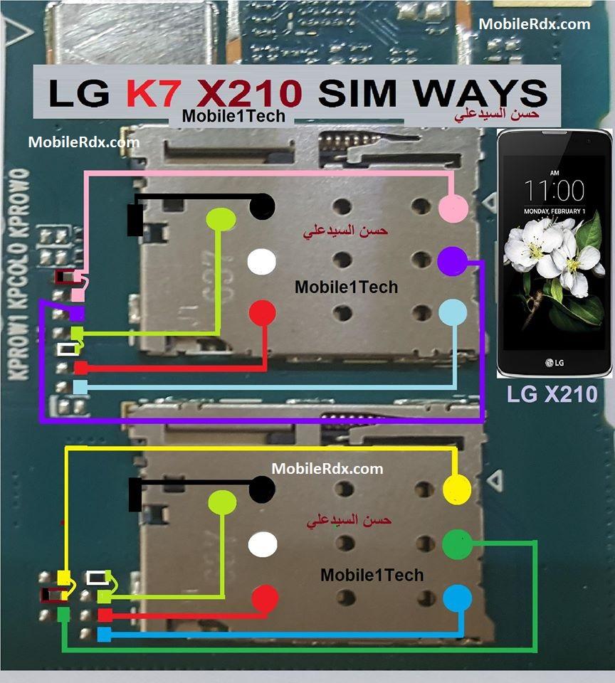 LG K7 X210 Sim Card Ways Insert Sim Card Problem Jumper Solution