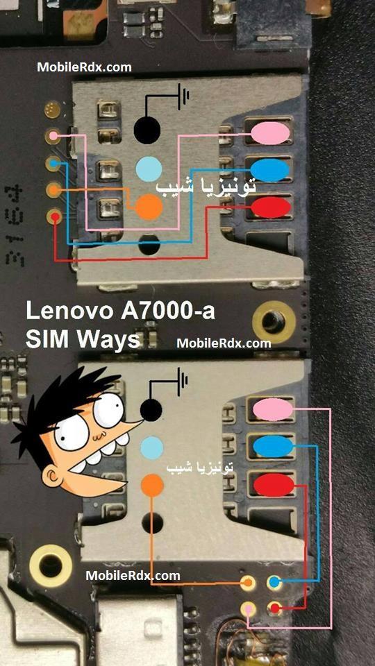 Lenovo A7000 Insert Sim Card Ways Jumper Solution