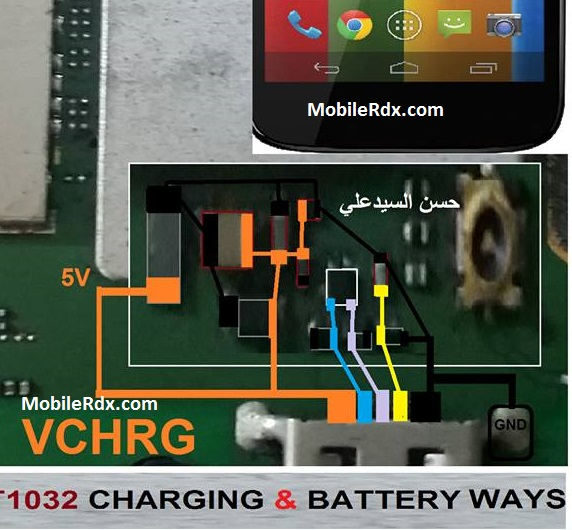 Motorola Moto G XT1032 Charging Ways Not Charging Problem Solution