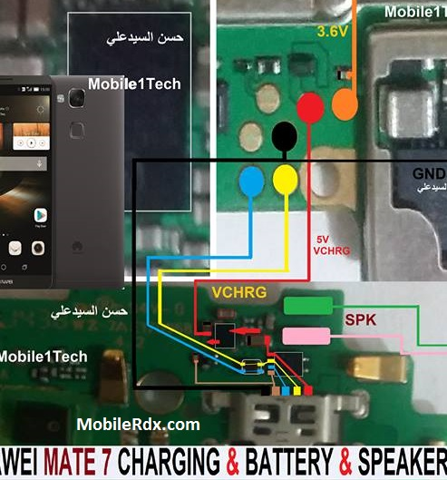 Repair Huawei Ascend Mate 7 Not Charging Problem Charging Ways