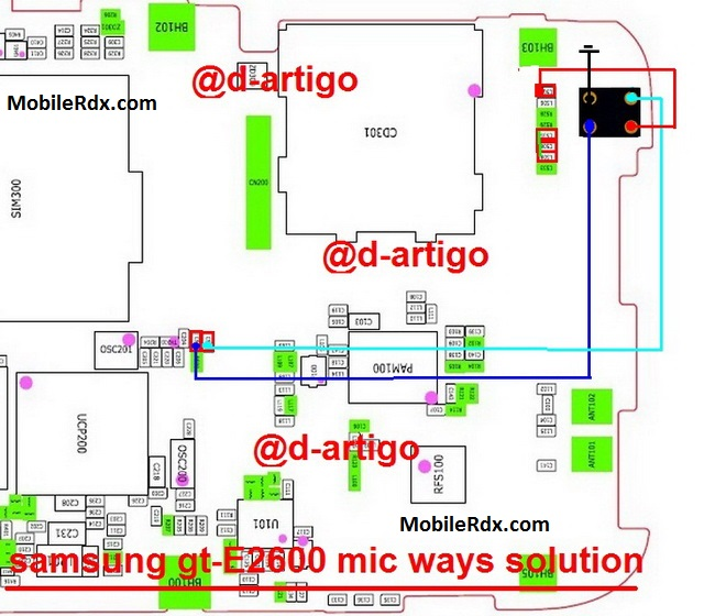 Samsung E2600 Mic Problem Ways Solution Mic Jumper