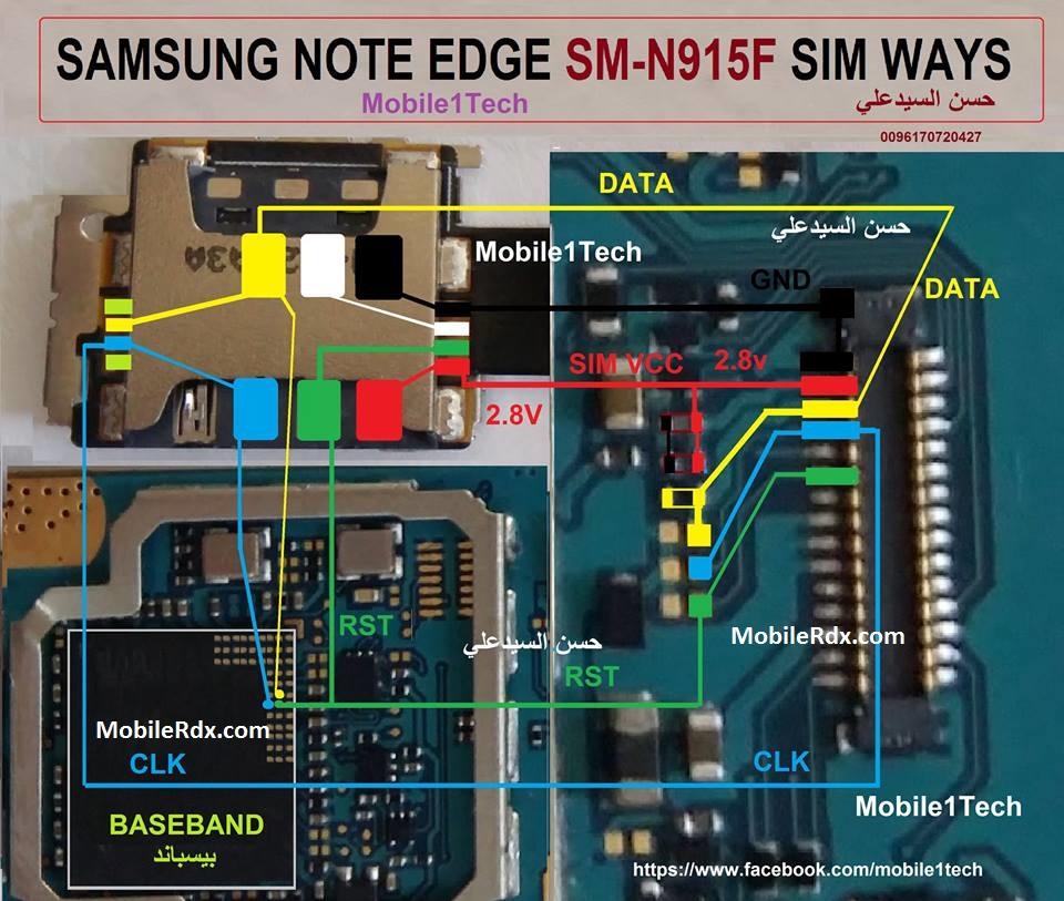 Samsung Galaxy Note4 N915F Sim Card Problem Jumper Solution