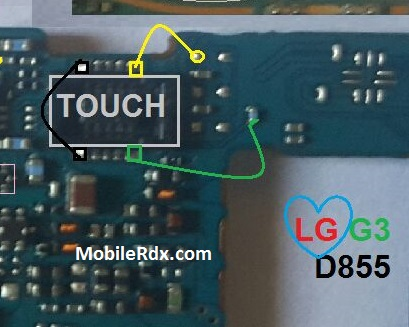 Repair LG G3 D855 Touch Screen Not Working Problem Touch Ways