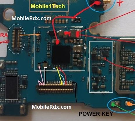 Samsung Galaxy A7 A710F Display Problem Ways Lcd Jumper Solution