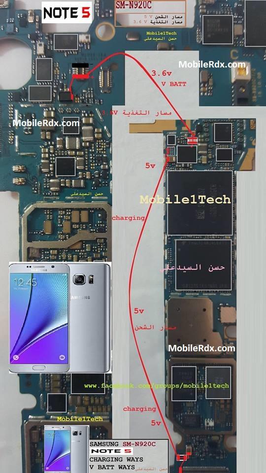 Samsung Galaxy Note 5 N920c Charging Problem Ways Solution