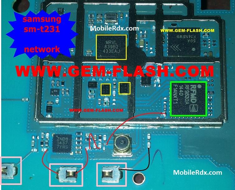 Samsung Galaxy Tab 4 T231 Network Problem Repair Solution