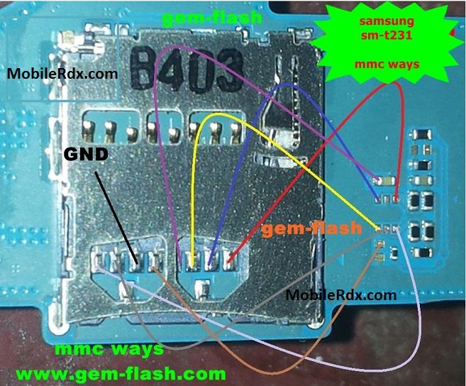 Samsung SM T231 MMC Problem Solution Memory Card Ways