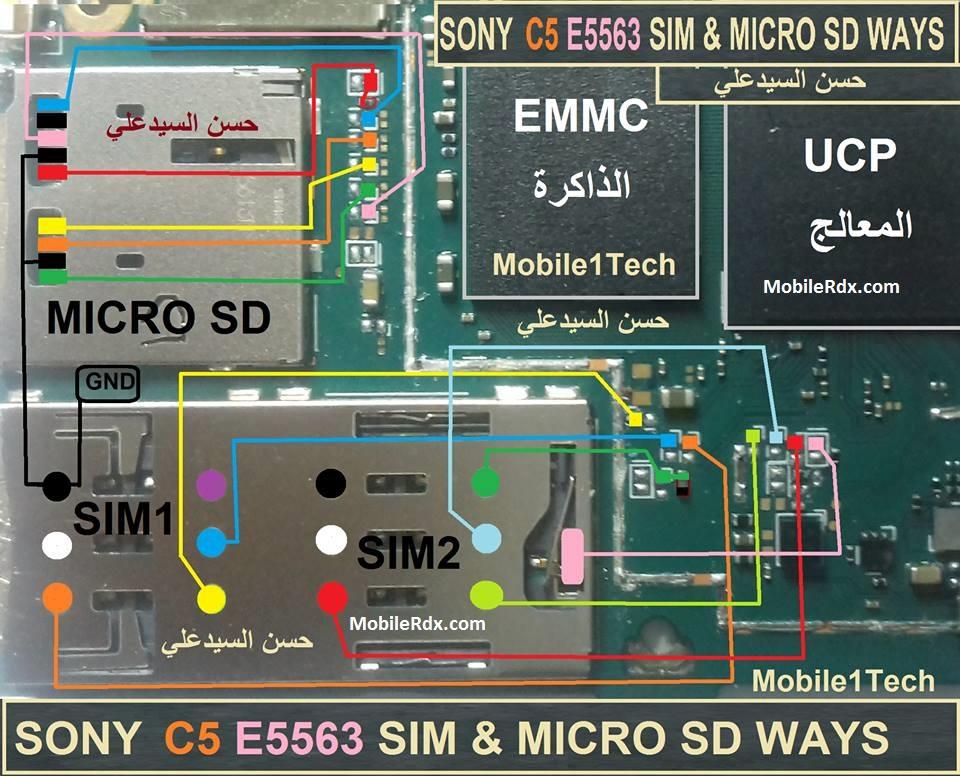 Sony Xperia C5 Ultra E5563 Sim Card Ways Jumper Solution