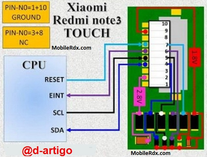 Xiaomi Redmi Note 3 Touch Screen Not Working Problem Repair Solution