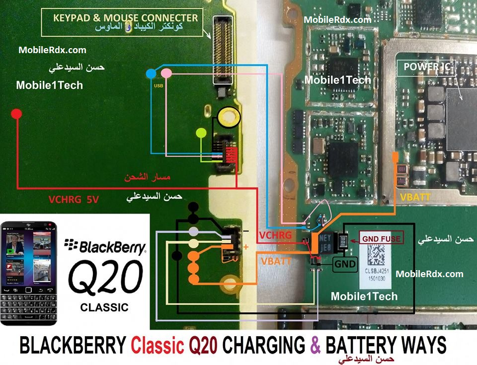 BlackBerry Q20 Classic Charging Problem Ways Solution