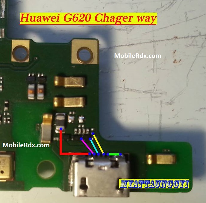 Huawei Ascend G620 Charging Ways Solution Not Charging Problem