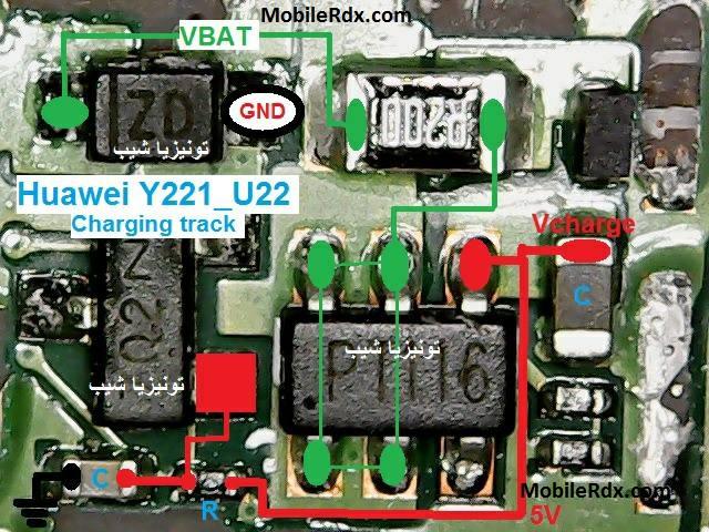 Huawei Y221 Charging Ways Solution Charging Jumper