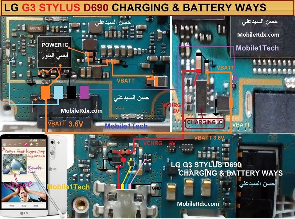 Lg G3 D690 Charging Ways Solution Usb Jumper