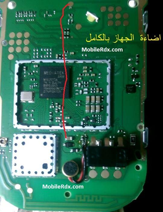 Nokia 105 RM 1133 Lcd Light Ways Display Jumper Solution