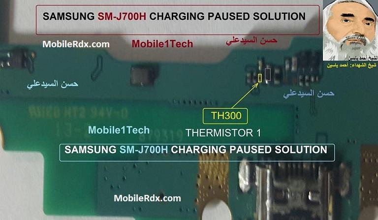 Samsung Galaxy J7 J700H Charging Paused Problem Solution 2