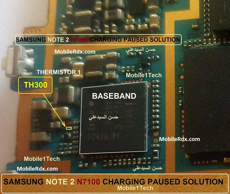 Samsung Galaxy Note 2 N7100 Charging Paused Problem Solution