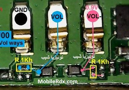 Huawei Ascend G610 Volume Keys Problem Jumper Solution