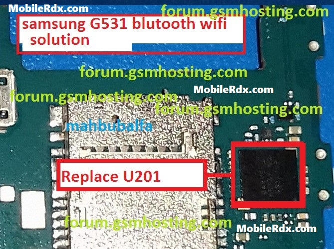 Samsung G531 Bluetooth And Wi Fi Problems Solution