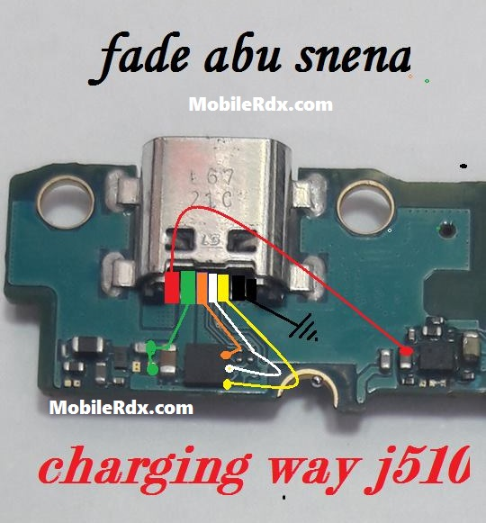 samsung galaxy j5 j510 charging ways usb jumper solution