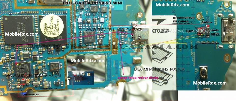 Samsung I8190 Charging Ways Solution Full Charging Jumper