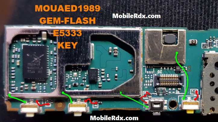 Sony Xperia C4 E5333 Power Button Ways On Off Key Jumpers