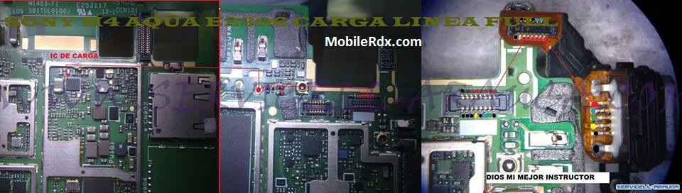 Sony Xperia M4 E2306 Charging Ways Jumper Solution