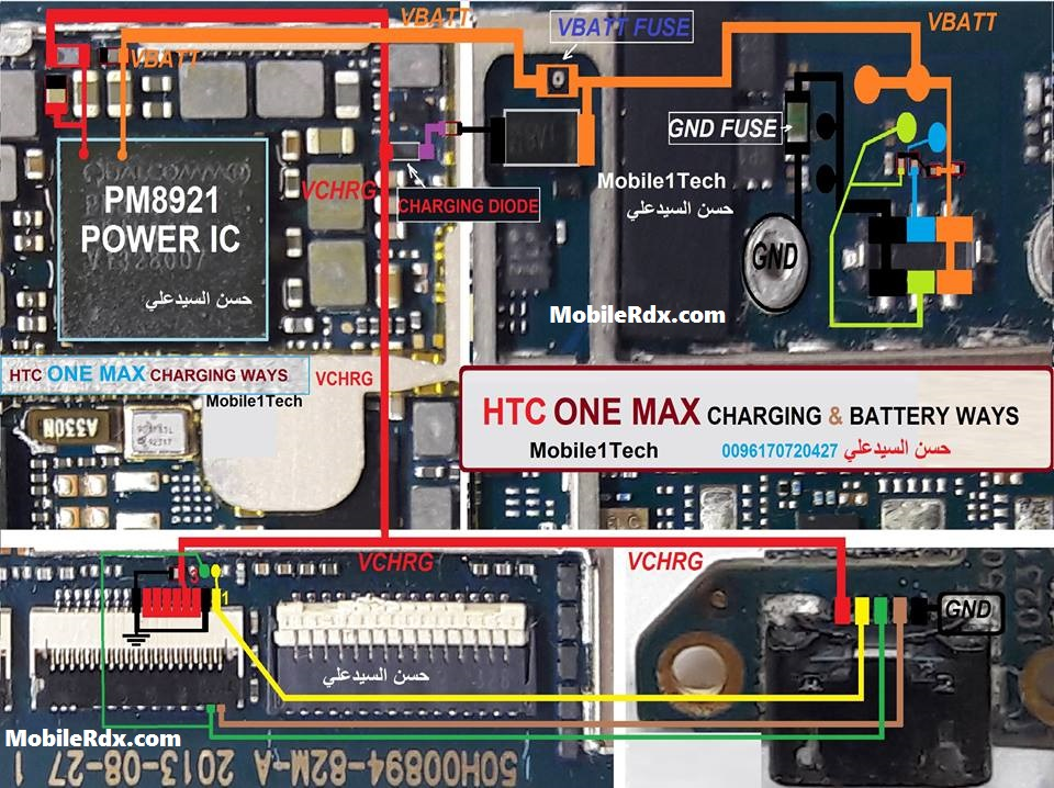 HTC One Max Charging Ways Problem Jumper Solution