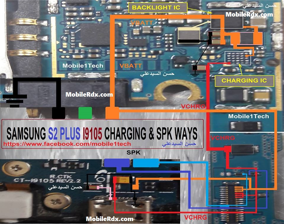 Samsung I9105 Charging Ways Solution Jumper Problem