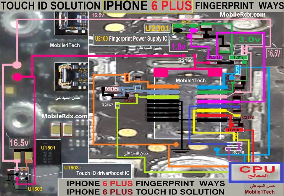 iPhone 6 Plus Fingerprint Ways Touch ID Problem Solution